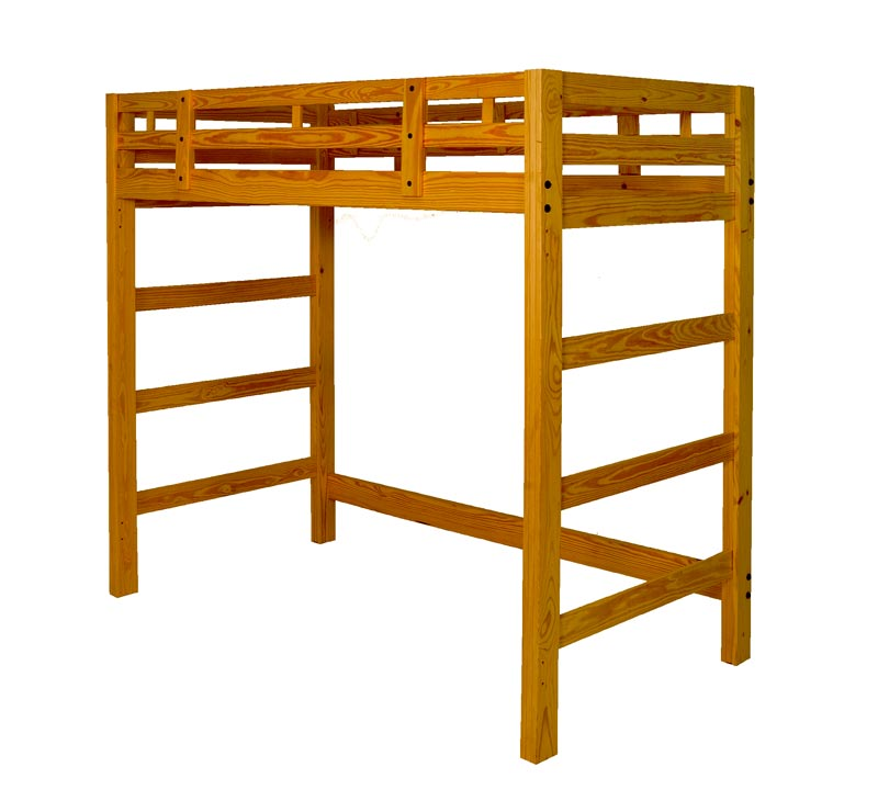 manhattan loft bed tall room doctor. Black Bedroom Furniture Sets. Home Design Ideas