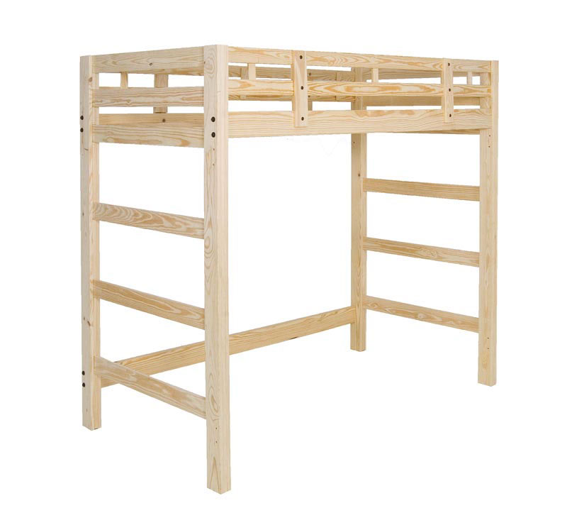 Manhattan loft bed tall room doctor - Extra tall bed frame queen ...