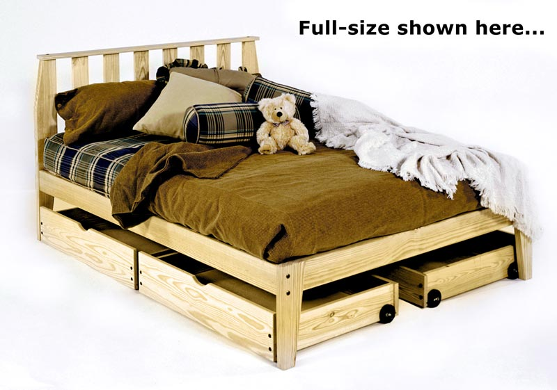 Rock Platform Bed With Mission Headboard Room Doctor