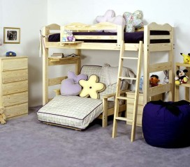 * Wave Bunk Bed