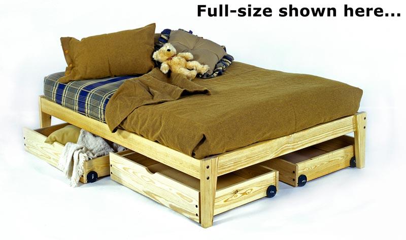 plateau platform bed - Wooden Platform Bed