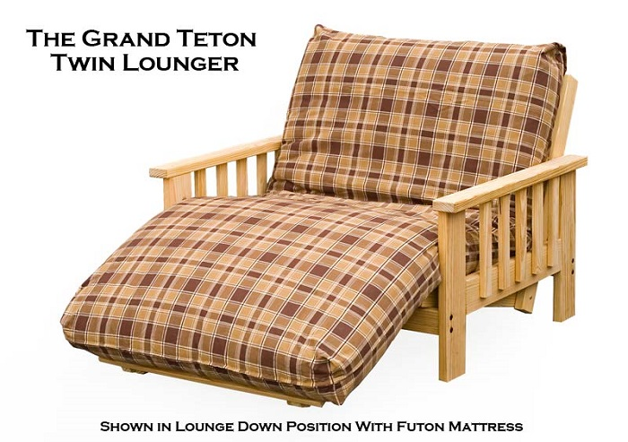 Lounger Futon Frame Twin Full And Queen Size Starting At