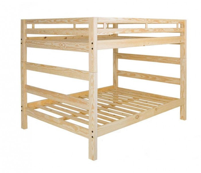 Solid Wood, American made Bunk Bed