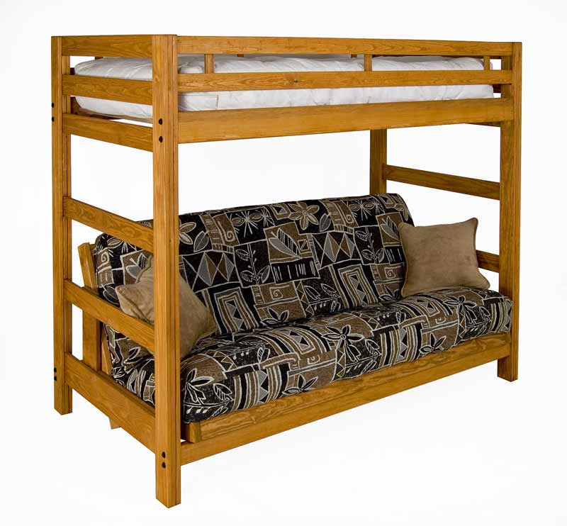 Liberty Futon Bunk Solid Wood Super Strong Usa Sale 329