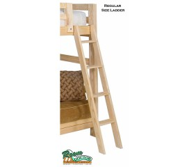BASIC WOOD BUNK OR LOFT BED LADDERS