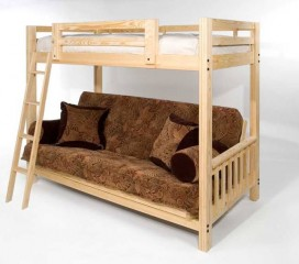Freedom Futon Bunk Package Deal! Includes Full Size Mattress