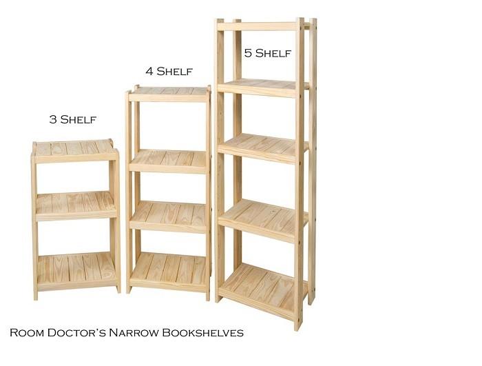 Solid Wood Bookshelf Size