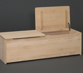 Valley Series Oak Storage Chest - Double Opening