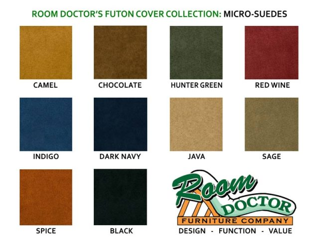 Futon Covers Micro Suede Fabric