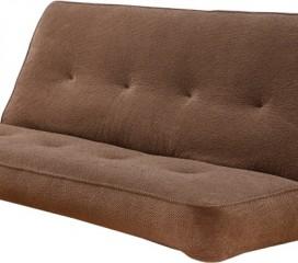 Upholstered Innerspring Futon Mattress - Maramount Mocha