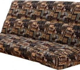Upholstered Innerspring Futon Mattress - Peters Cabin
