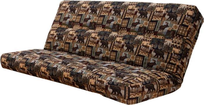 Upholstered Innerspring Futon