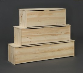 Valley Series Pine Storage Box (48
