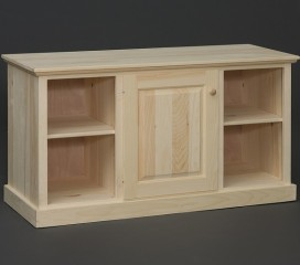 Valley Series Pine TV Stand - One Door