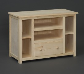 Valley Series Pine TV Stand - Square Corners