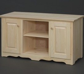 Valley Series Pine TV Stand -   2 Door