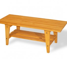 Viking Coffee Table in Golden Oak Finish