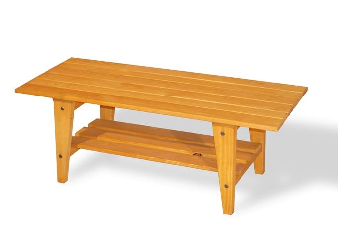 Viking Coffee Table In Golden Oak Finish