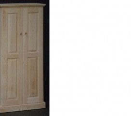 Valley Series 2 Door Pine Cabinet - large