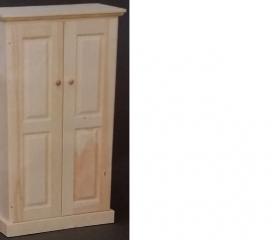 Valley Series 2 Door Pine Cabinet - medium