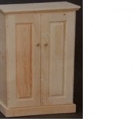 Valley Series 2 Door Pine Cabinet - small