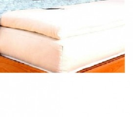 White Lotus Evergreen Foam Bed Topper