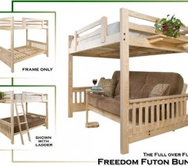 Full over Futon Futon Bunk ==> WoW!!