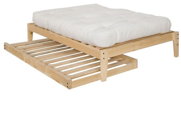 Cute Trundle Bed Frame Design