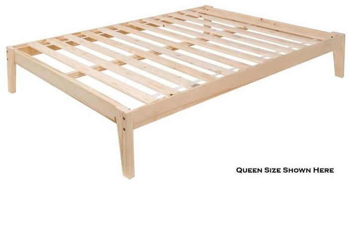 The Plateau - the Ultimate Pine Platform Bed -