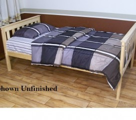 Platform Bed Twin or Full Size - Versa Style