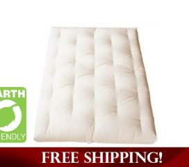 ALL GREEN COTTON MATTRESS WITH OPTIONAL FIRE RETARDANT