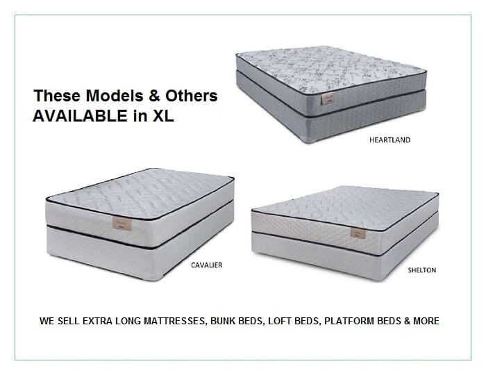 twin xl and full xl mattresses u2013 extra long