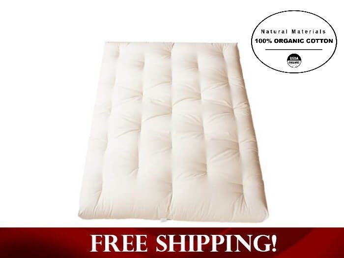 all organic cotton futon     all organic cotton futon with no fire retardant    rh   roomdoctor