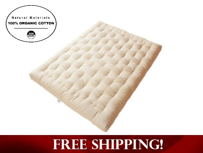 Medium image of organic cotton and wool boulder dreamton futon