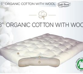 PURE ORGANIC COTTON WITH 5 INCH OR 8 INCH - GOLD BOND