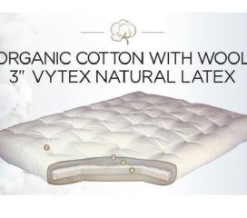 NATURAL LATEX WITH ORGANIC COTTON AND WOOL - GOLD BOND