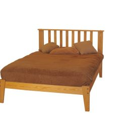 *Queen Chemical-Free Mattress & Eco-Friendly Bed Frame Set
