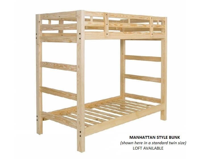 Full Size Loft Beds - Queen Size Bunk Beds