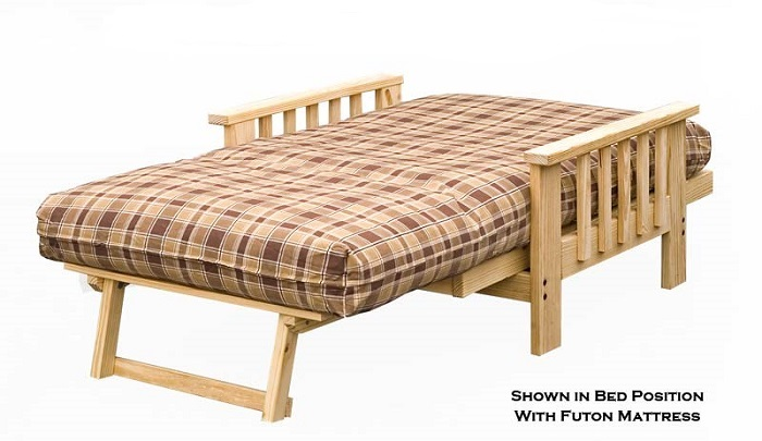 Lounger Futon Frame Twin Full And