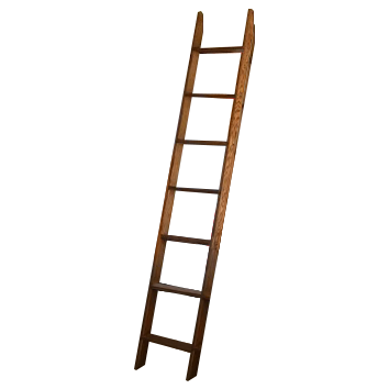 Custom Oak Ladder
