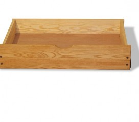 Oak Under Bed Storage Drawers
