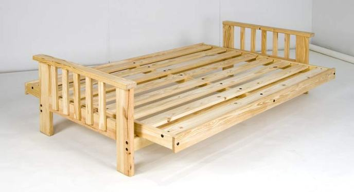 Solid Wood Futon Frame The Best You Will Find Amp 4 Arm