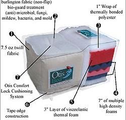 *Otis Pulsar Futon Mattress
