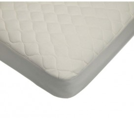 100% Organic Natura Fitted Mattress Pad