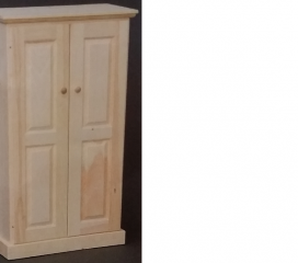 Valley Series 2 Door Pine Cabinet - medium