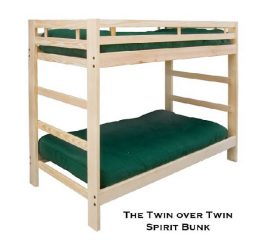 Twin Bunk Bed - Spirit Style