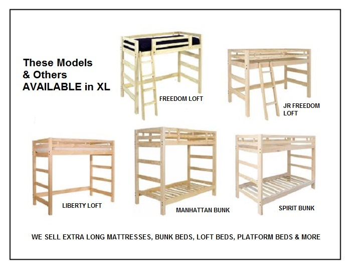 Xl Bunk Beds