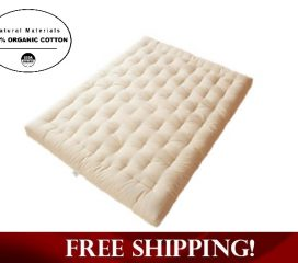 ORGANIC COTTON AND WOOL BOULDER DREAMTON MATTRESS