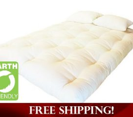 GREEN COTTON, WOOL AND FOAM DREAMTON MATTRESS