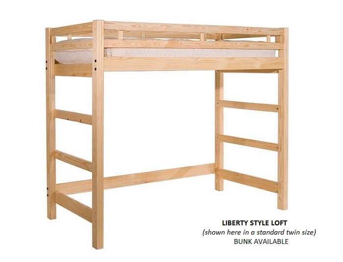 Full Size Loft Beds Queen Size Bunk Beds